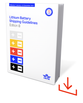 IATA Lithium Battery Shipping Guidelines 2021, 8. Edition, Web-Download, englisch