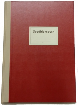 Speditionsbuch A3